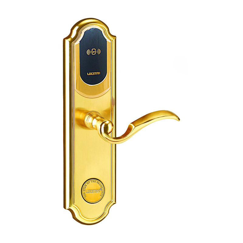 电子感应密码指纹执手锁