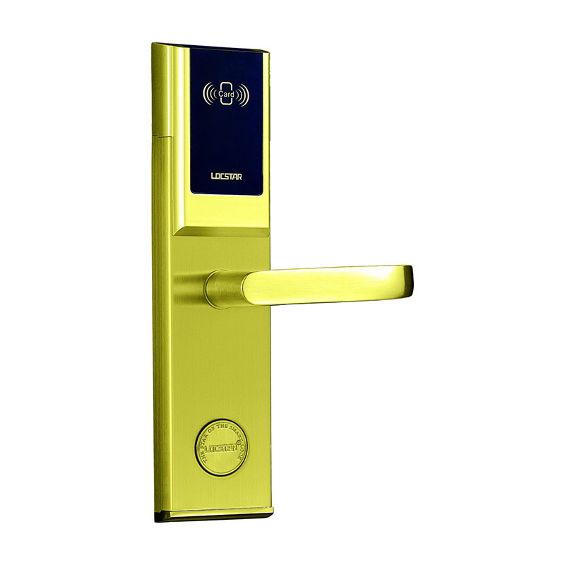 电子感应拉手锁